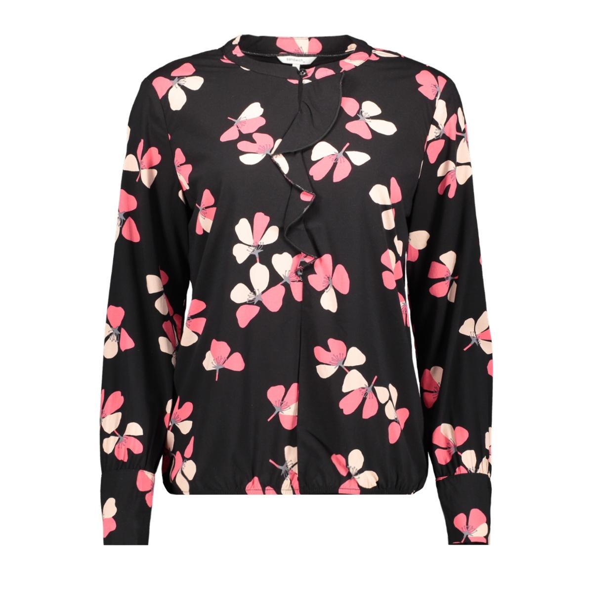 top met ruffles en bloemenprint 22001771 sandwich blouse 20150