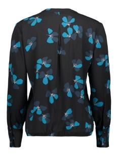 top met ruffles en bloemenprint 22001771 sandwich blouse 50080