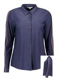 travel jersey blouse met lurex bies 22001752 sandwich blouse 40153