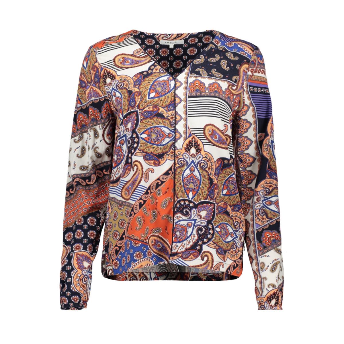 top met paisley print 22001755 sandwich blouse 21023