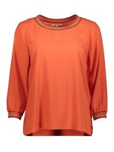 Sandwich T-shirt TOP MET GESTREEPTE LUREX BIES 22001759 21023