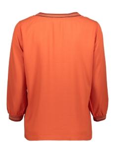 top met gestreepte lurex bies 22001759 sandwich blouse 21023