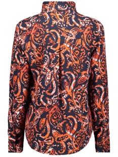 paisley top met striksluiting 22001757 sandwich blouse 21023