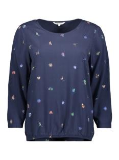 blouse met print 22001741 sandwich blouse 41045