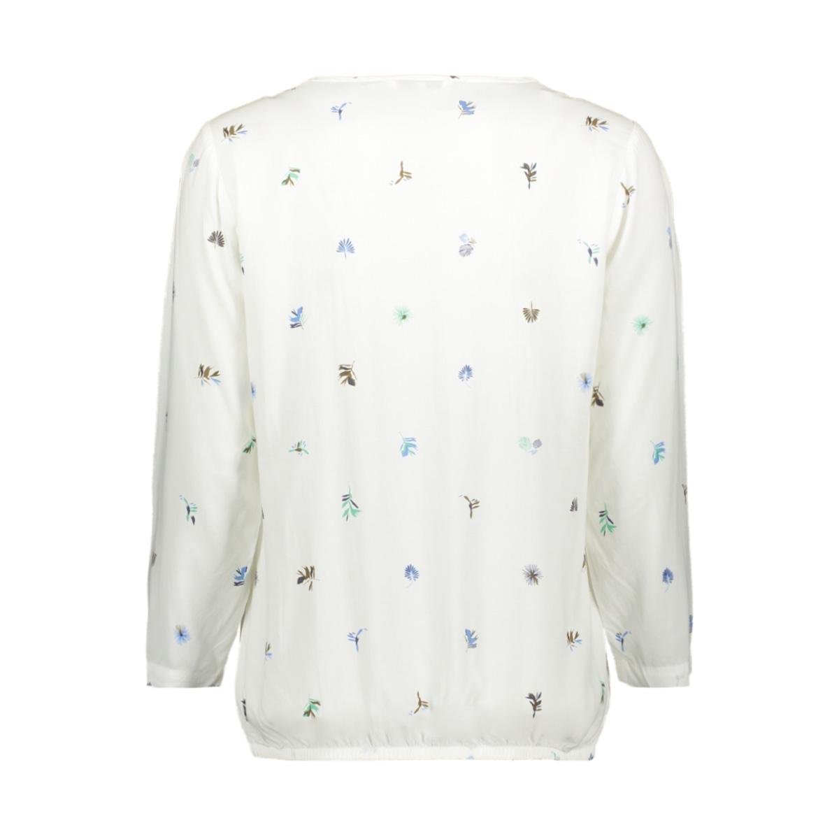 blouse met print 22001741 sandwich blouse 10092