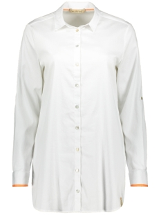 Smith & Soul Blouse LONG BLOUSE SOLID 1019 1004 WHITE