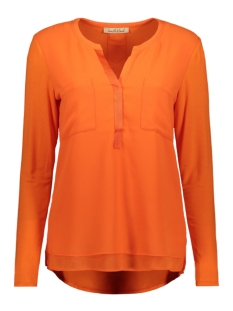 Smith & Soul Blouse CHIFFON BLOUSE 1019 0900 HOT ORANGE