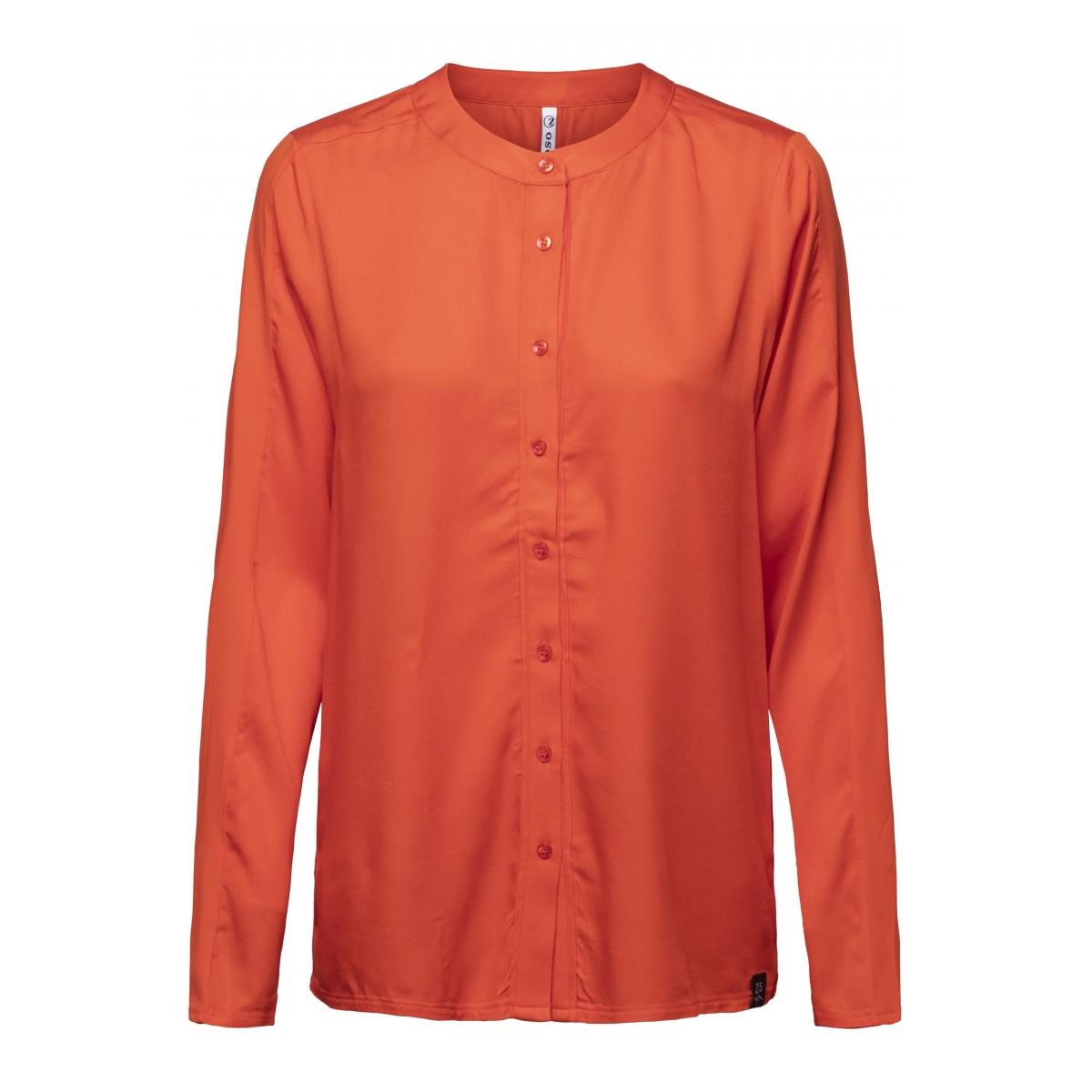 emily woven blouse 194 zoso blouse orange