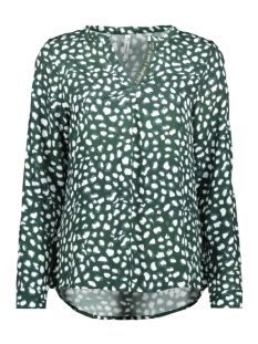 Zoso Blouse ESRA ALLOVER PRINTED BLOUSE 195 FOREST MIDGREEN