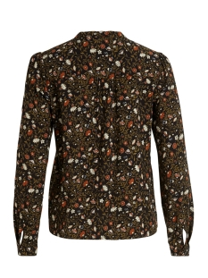 viemery jila l/s shirt/l 14058621 vila blouse black/jila