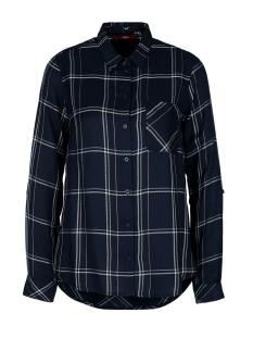 blouse met borstzak 05912112825 s.oliver blouse 59n1