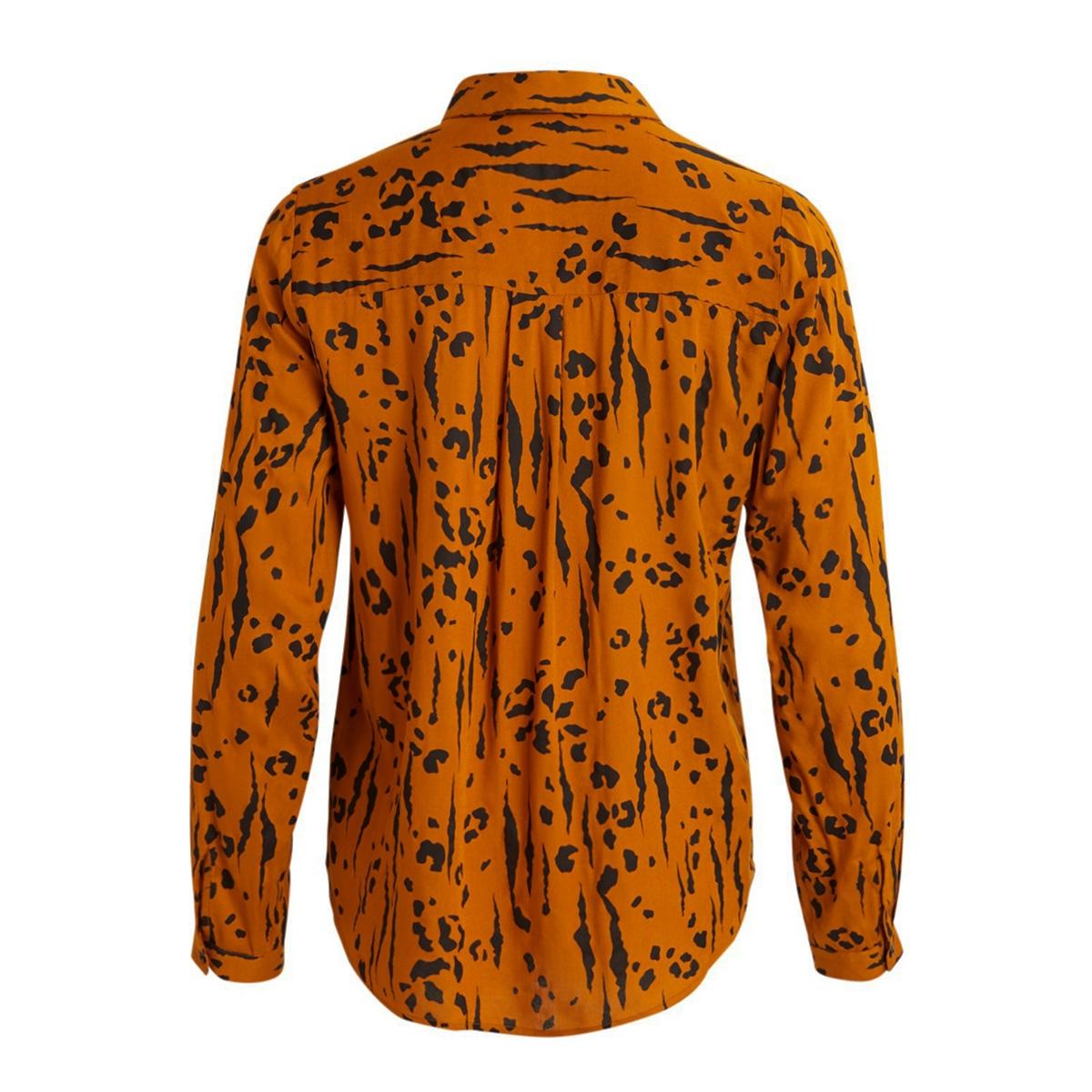 vimitzy kalda  l/s shirt/l 14059187 vila blouse pumpkin spice/kalda
