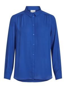 Vila Blouse VILUCY L/S BUTTON SHIRT - FAV 14053374 Mazarine Blue