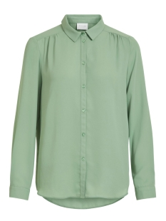 Vila Blouse VILUCY L/S BUTTON SHIRT - FAV 14053374 Loden Frost
