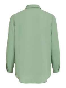 vilucy l/s button shirt - fav 14053374 vila blouse loden frost