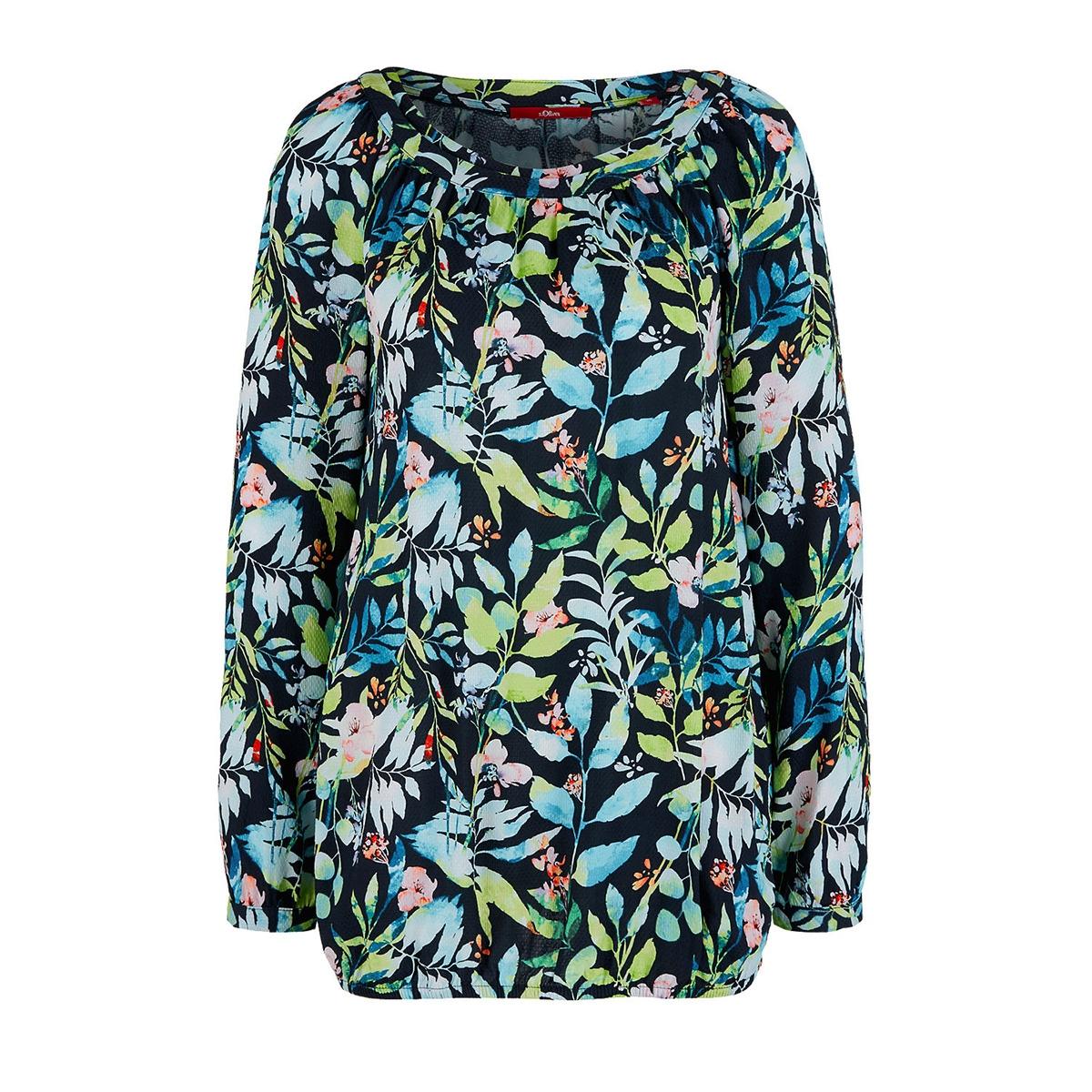 blouse met een bloemenpatroon 04899116081 s.oliver blouse 59a2
