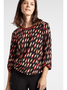 Sandwich Blouse BLOUSE MET GRAFISCHE PRINT 22001789 20151 RED
