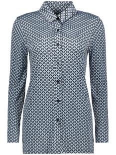 blouse basic 3332 iz naiz blouse star block light blue