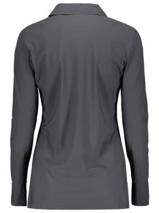 marjorie travel blouse 201 zoso blouse 0059 charcoal