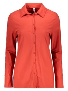 marjorie travel blouse 201 zoso blouse 0072 desert red