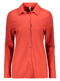 Zoso Blouse MARJORIE TRAVEL BLOUSE 201 0072 DESERT RED