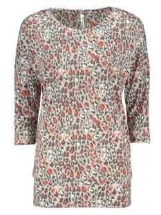 Zoso T-shirt UNITY SPLENDOUR BLOUSE 201 0007/0072 SAND/DESERT RED
