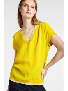 Sandwich T-shirt T SHIRT MET LUREX GLITTERSTREPEN 22001809 30024 MIMOSA
