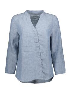 linnen blouse 22001786 sandwich blouse 41028 cloud melange