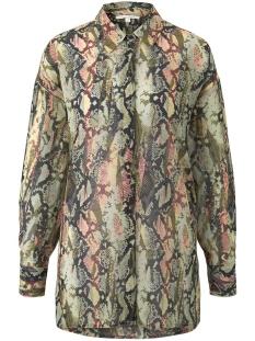 extra grote blouse met slangenprint 1017384xx71 tom tailor blouse 22053