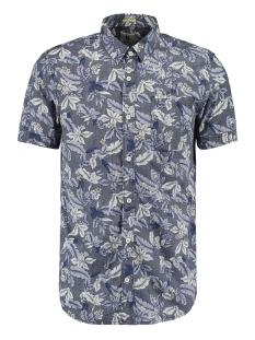 Garcia Overhemd OVERHEMD MET BOTANISCHE PRINT O01037 292 DARK MOON