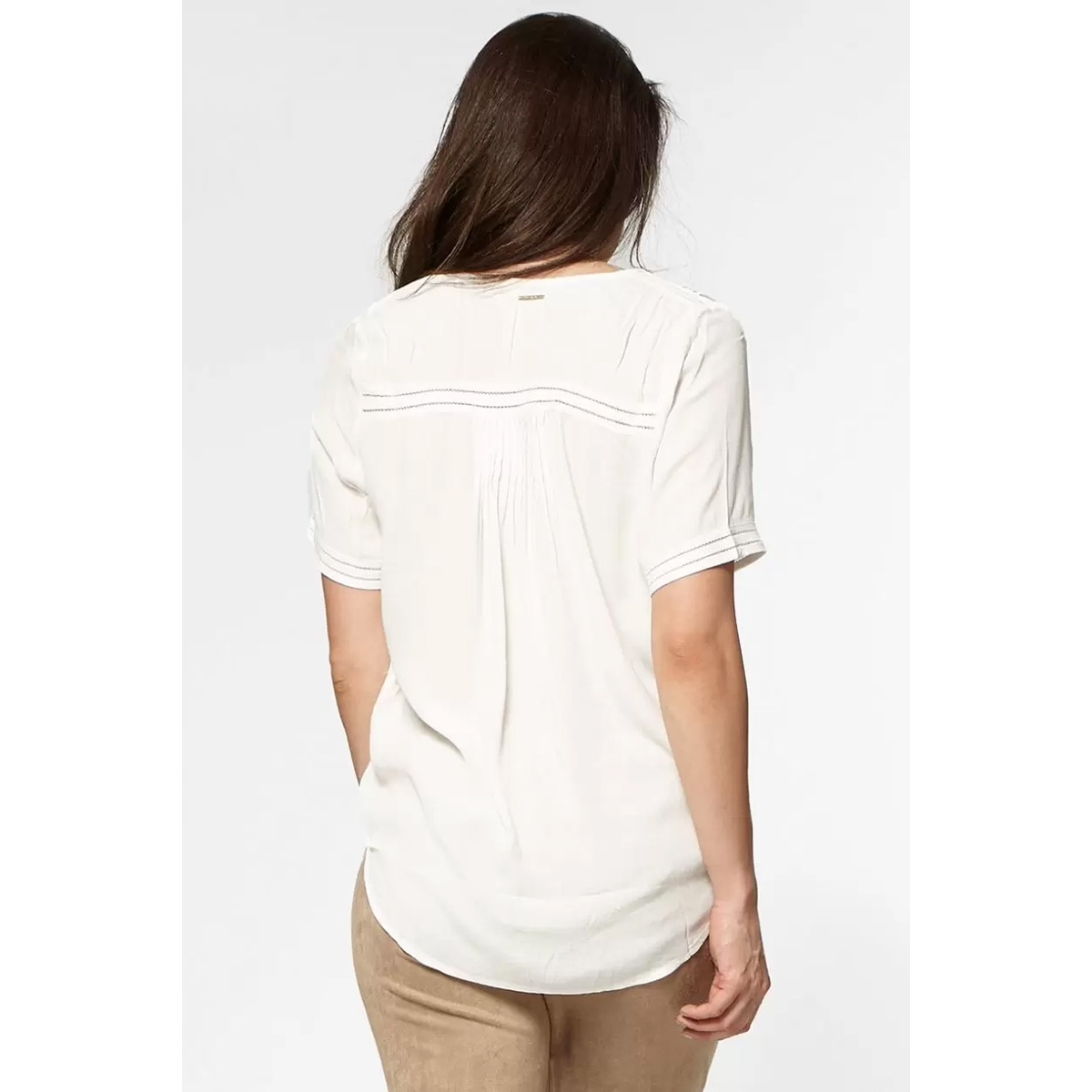 cristy blouse s20 65 circle of trust blouse 9550 off white