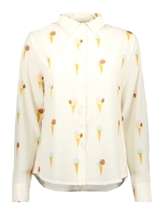 Goût d'Anvers Blouse BLOUSE CLASSICA GDA13 0100 1 ICE CREAM