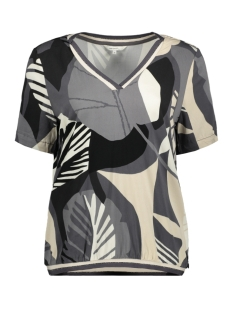 Sandwich T-shirt T SHIRT MET ORGANISCHE PRINT 22001797 80025