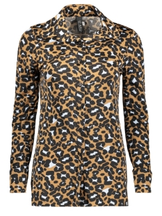 IZ NAIZ Blouse BLOUSE BASIC 3332 BROWN LEOPARD