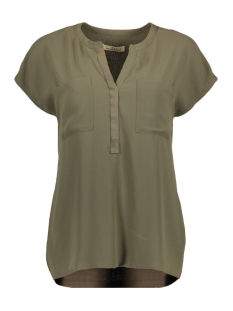 Smith & Soul Blouse MIX MATCH BLOUSE 1 2 0320 0348 708 FOREST