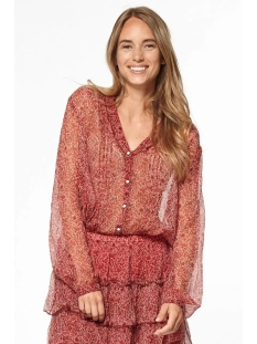 Circle of Trust Blouse ISABELLE BLOUSE S20 49 3055 RED TREE