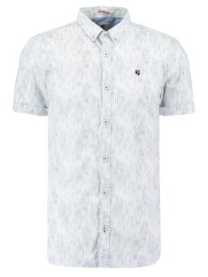 Garcia Overhemd OVERHEMD MET ALL OVER PRINT P01232 1050 Indigo