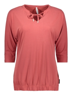 Zoso T-shirt CYRUS SUPRO LOOK BLOUSE 201 0072 DESERT RED