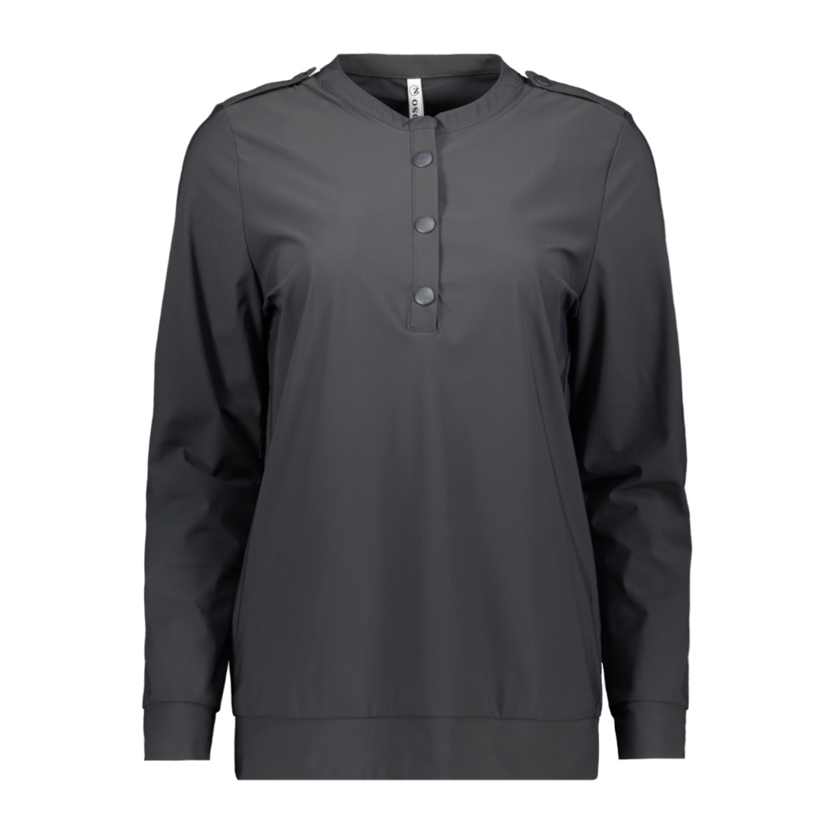 marlies travel blouse 201 zoso blouse 0059 charcoal