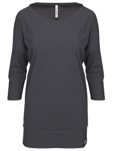 Zoso T-shirt DARLY TRAVEL BLOUSE 201 0059 CHARCOAL