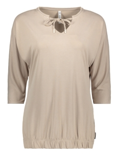 Zoso T-shirt CYRUS SUPRO LOOK BLOUSE 201 0007 SAND