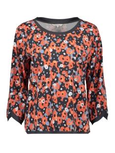 Sandwich T-shirt TOP MET AQAUREL BLOEMEN PRINT 22001823 20139