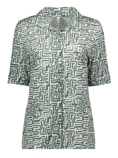 Zoso Blouse MERCURY PRINTED BLOUSE 202 GREENSTONE