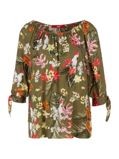 s.Oliver Blouse BLOUSE MET CARMENHALS IN LAAGJESLOOK 14004195441 78A1