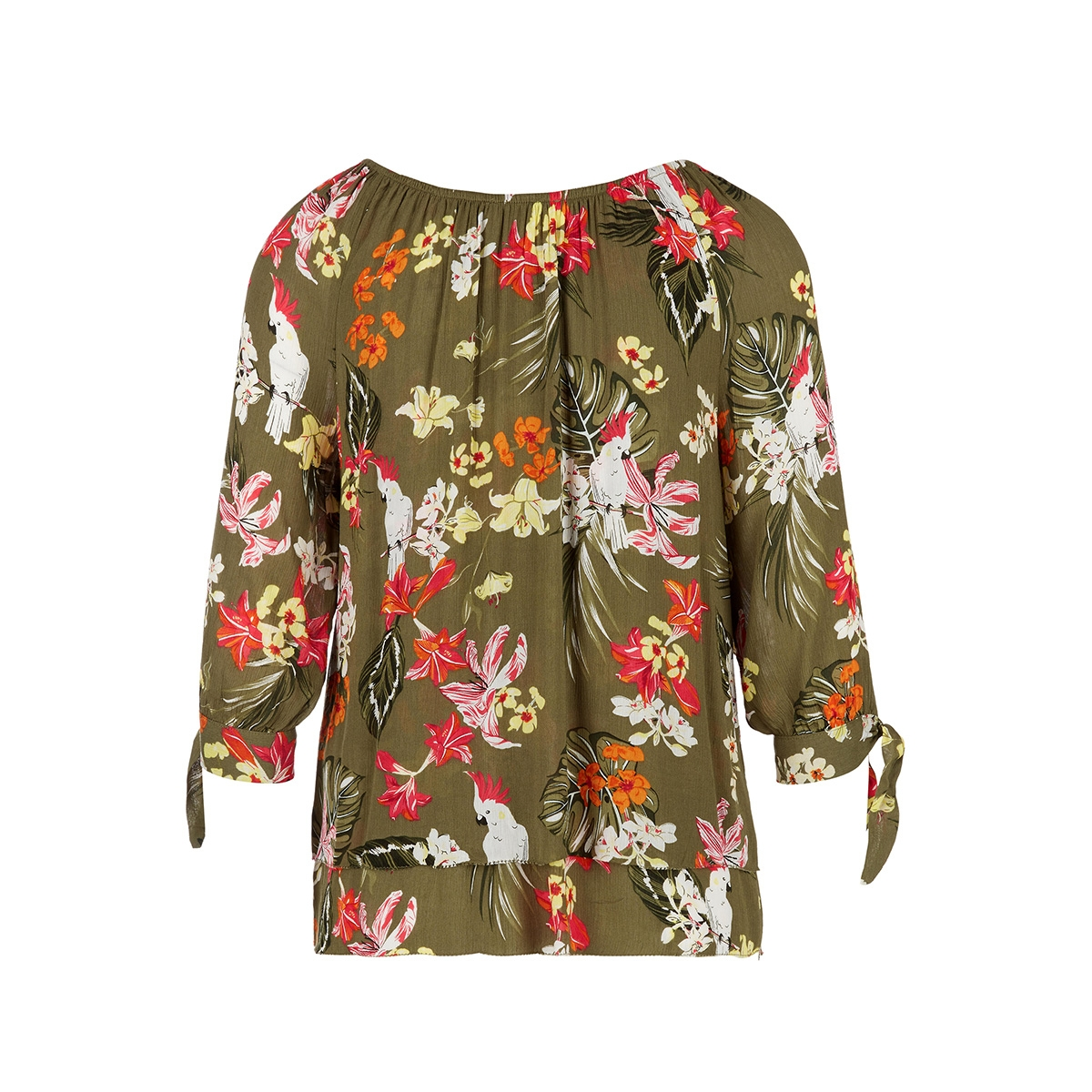 blouse met carmenhals in laagjeslook 14004195441 s.oliver blouse 78a1