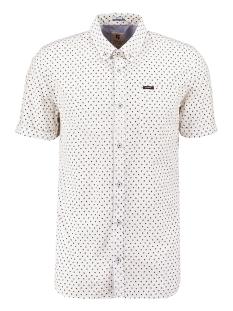 Garcia Overhemd OVERHEMD MET ALLOVER PRINT Q01031 50 White