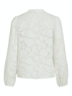 viflowas l/s shirt/l/1 14061505 vila blouse cloud dancer