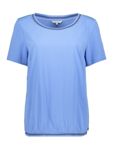 Sandwich T-shirt T SHIRT MET RIBGEBREIDE BOORDEN 22001834 40064