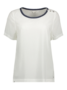 Sandwich T-shirt T SHIRT MET SIERKNOPEN 22001683 10092