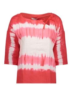 Sandwich T-shirt T SHIRT MET STRIKKOORD 22001536 20157